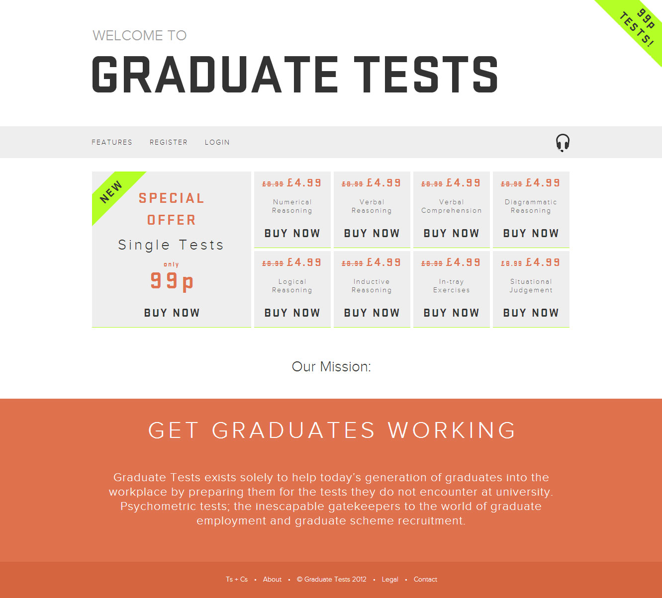 AssessmentDay (Graduate Tests website)